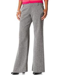 pantalón de tweed