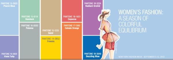 Pantone - Colores de verano