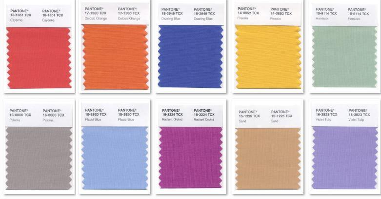 Verano 2015 los colores de la temporada blog de una - Tonos de colores ...