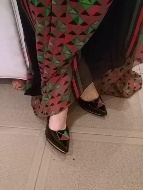 Connie Ansaldi calzado