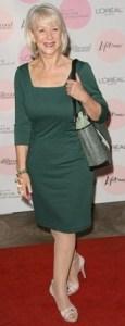 Helen Mirren - Verde para fria
